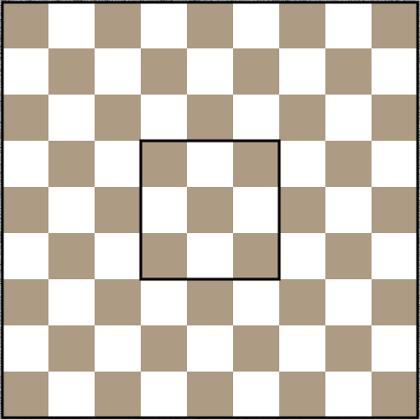 Kręgle szachowe - plansza