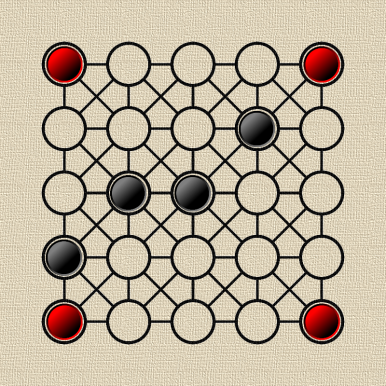 teeko-kwadrat25